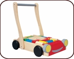 Baby Walker + Wooden Blocks (10 months+)