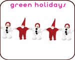 "GREEN HOLIDAY GIFT GUIDE <font color=""ff0000"">2015</font>"