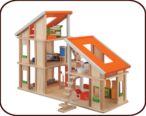 Chalet Dollhouse with Furniture (3 years+)