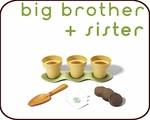 BIG BROTHER + SISTER 3<SUP>+</SUP>  years