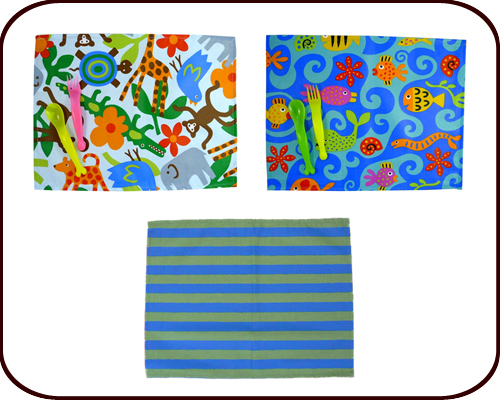 Placemat for Boys and Girls