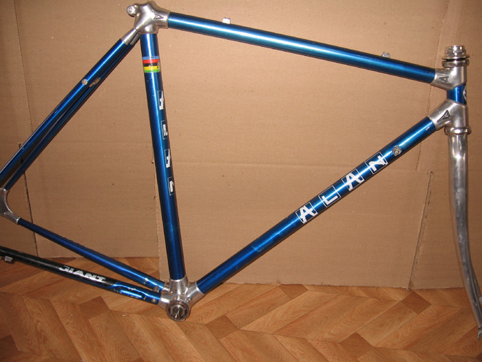 Alan Bike Made In Italy Super Alan Bike Frame and fork