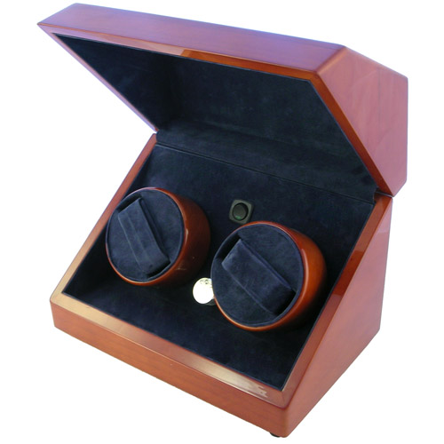 COMPUTER PROGRAMMED DUAL MOTOR AUTOMATIC DOUBLE WATCH WINDER