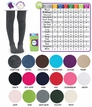 1500 Seamless Organic Cotton Tights