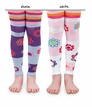 1572 Flower Frenzy Footless Tights