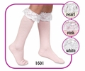 *1601 Lace Diamond Knee High