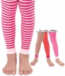 1553 Stripe Footless Tights