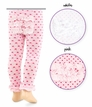 1538 Pima Cotton Dot Rhumba Footless Tights