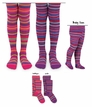 1523 Multi Stripe Tights