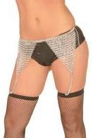 Chainmail Garter Belt