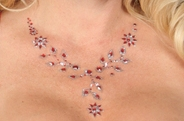 Jeweled Bindi Necklace