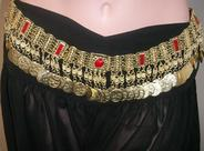 Belt with Stones & Coins