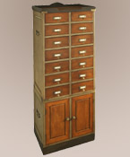 Collector's Cabinet ~ with Doors