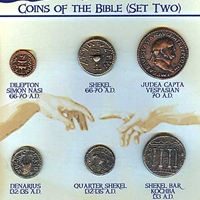 Coins of The Bible Set 2