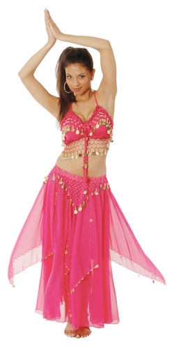 Sparkling Belly Dancer Costume