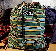 Fair Trade Shanzu Back Pack w/Bottle Holder, Kenya