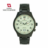 Men's Chronograph Bracelet Watch Swiss Made