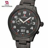 Men's All Black Swiss Chronograph Watch
