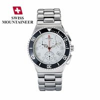Best Value Swiss Watch Chronograph White Dial
