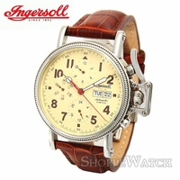 Men's Ingersoll Brown Leather Automatic Watch