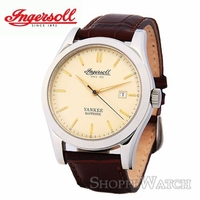 Ingersoll IN8000CR Mens Automatic Leather Watch