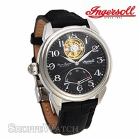 Ingersoll IN8100BK Mens Automatic Leather Watch