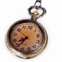 Amber-Case Full View Pocket Watch PW29