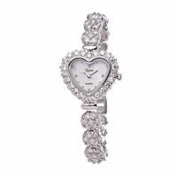 Riana RCW0006 Womens Heart Dial Bracelet Watch