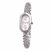 Riana RCW0017 Womens Silver Luxury Crystal Bling Bracelet Watch