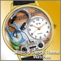 Music & Dance Watches