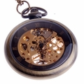 Mechanical Skeleton Pocket Watch PW12