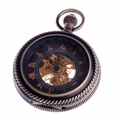 Black Dial Pocket Watch PW32