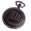 American Flag Pocket Watch PW45