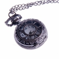 Ladies Flower-Web Pendant Pocket Watch PW56