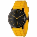 Yellow-Black Silicone Watch