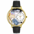 Accountant Watch in Gold or Silver Unisex g 0610005
