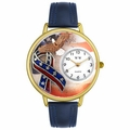 American Patriotic Watch in Gold or Silver Unisex G 1220035