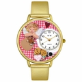 Angel Mom Watch in Gold or Silver Unisex G 1010013