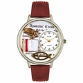 Apostles Creed Watch in Silver Unisex U 0710007