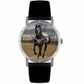 Appaloosa Horse Print Watch in Silver Classic R 0110022