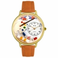Artist Watch in Gold or Silver Unisex G 0410002
