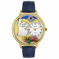 Bad Cat Watch in Gold or Silver Unisex G 0120003