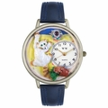 Bad Cat Watch in Silver Unisex U 0120003