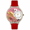 Baking Watch in Silver Unisex U 0310005