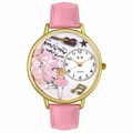 Ballet Shoes Watch in Gold or Silver Unisex G 0510003