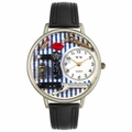 Beautician Male Watch in Silver Unisex U 0630002