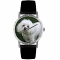 Bichon Print Watch in Silver Classic R 0130010
