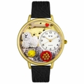 Bichon Watch in Gold or Silver Unisex G 0130010