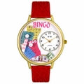 Bingo Watch in Gold or Silver Unisex G 0430007
