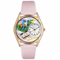 Bird Watching Watch Classic Gold Style C 0150012